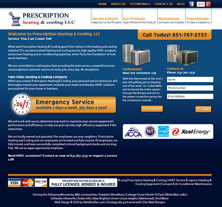 Prescription Heating & Cooling, LLC
