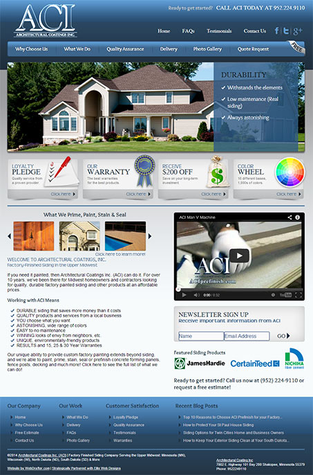 Architectural Coatings