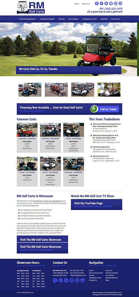 RM Golf Carts
