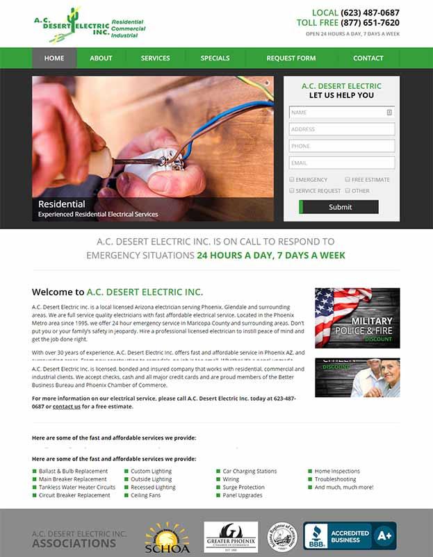 A.C. Desert Electric Inc.