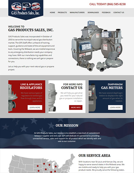 Gas Products Sales, Inc.