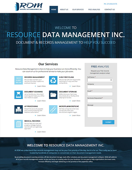Resource Data Management, Inc.